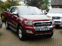 2017 Ford Ranger 2.2TDCi LIMITED ( 160PS ) 4x4 7,000 MILES NO VAT