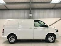 VW VOLKSWAGEN TRANSPORTER 55,000 LOW MILEAGE T5 SWB SAT NAV HIGHLINE WHEELS