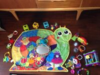 Baby toys toy bundle Lamaze little tikes vtech playmat rattles