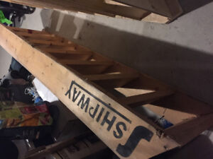 Construction prefab stairs...7ft