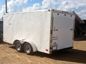 NEW 2016 7x14 Enclosed Trailer w Ramp Kitchener / Waterloo Kitchener Area image 2