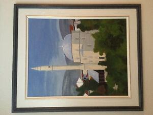 Peinture originale par artiste Gatineau Ottawa / Gatineau Area image 1