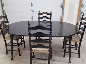 Dining Room Table and 4 Chairs - Will sell Table Separately $70