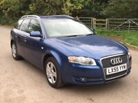 Audi A4 avant 1owner FSH audi dealer +cambelt and water pump finance available accept bad credit