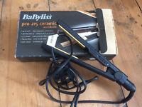 Babyliss 215 pro ceramic straighteners