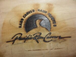 Hand Carved Duck by Pacific Rim Carvers $40. Prince George British Columbia image 2