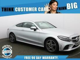 image for 2018 Mercedes-Benz C Class C 200 AMG LINE Auto Coupe Petrol Automatic