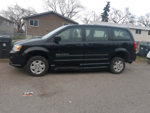 DODGE CARAVAN 2011 WHEELCHAIR