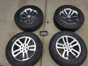 For Sale - 275 60 20 Duratracs on Nissan Titan Rims