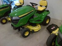 New John Deere X300 Select-Series Lawn Tractor - From $91/Month
