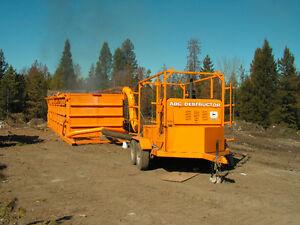 Industrial Wood Waste Burner