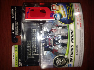 Transformers DOTM Cyberverse Preview Pack Optimus Prime Limited