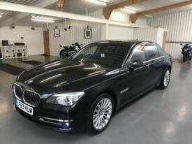 BMW 760 Li SE * LWB * SAPHIRE BLACK WITH BLACK LEATHER * MASSIVE SPEC * 2014 MY