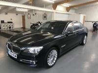 BMW 760 Li SE * LWB * SAPHIRE BLACK WITH BLACK LEATHER * MASSIVE SPEC * 2014 MY