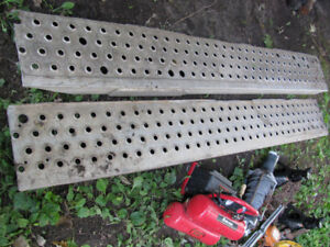 Ramps for either 4 wheelers or motorcycles,7.5 feet long