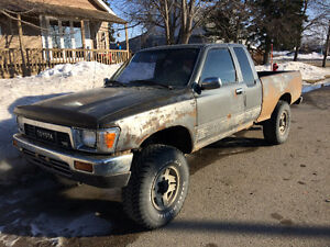 1989 Toyota Pickup 4x4 - Great project truck