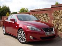 Lexus IS 250 2.5 SE Red 2008 Manual - Full Leather, FMDSH, Very high Spec!