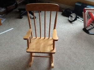 Child's Rocking Chair London Ontario image 1