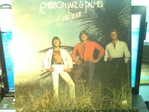 "EMERSON LAKE & PALMER-""LOVE BEACH"" 1978"