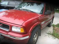 """""""LAST CALL"""" 1997 GMC Jimmy 4 dr SUV, REDUCED"""