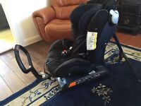 Besafe Izi Combi X3 rear facing car seat from birth to 4years
