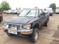 Toyota hilux 4x4 petrol LEFT HAND DRIVE !!!