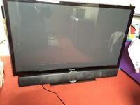 "51"" 3D HD PLASMA & Sound bar (offers welcome)"