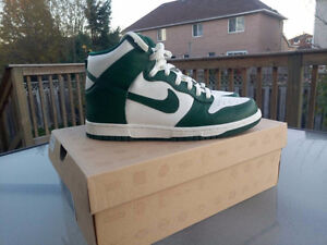 Nike Dunk High Celtics Size 8.5