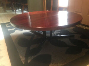 Round wooden coffee table Sarnia Sarnia Area image 5