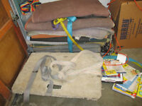 MOVING PADS OR BLANKET $10. EACH 4 WHEELER $40.CALL 519-673-9819