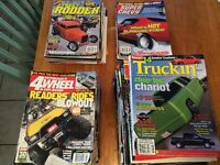Automotive / Truck / Hot Rod / Mud  Magazines 1993 to 2014  FREE