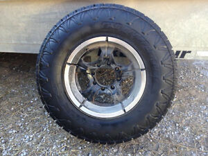 EXO GRAPPLER AWT w/ Core Racing aluminum rims off Dodge Ram 2500