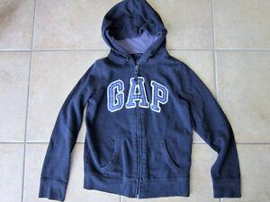 Gap Girls Size 10 Zip Up Hoodie