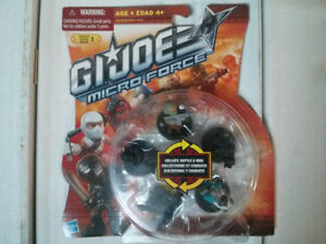 GI Joe Micro Force lot #1pack of 5 figures $10