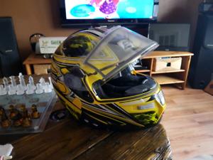 Casque vtt moto motoneige