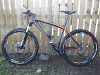 Cube light weight carbon mtb