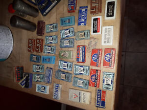 Vintage and antique razor's,  razor blades and cases