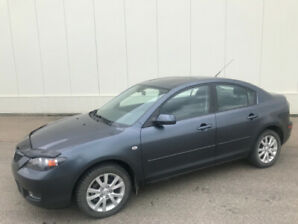 2008 Mazda3 Only 101K Automatic......780-235-6830