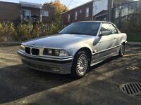 1994 BMW 3-Series Convertible, 318i, E36, Silver