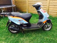 Piaggio Fly 50 scooter 4t 2008 58 plate low miles