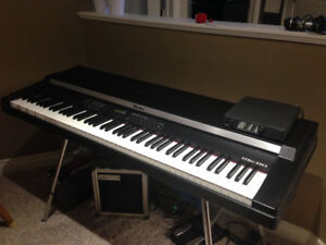 Roland Rhodes MK80 Digital Electric Piano with weighted keys.