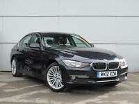2012 BMW 3 SERIES 320d Luxury Leather Bluetooth GBP30 Tax 1 Owner