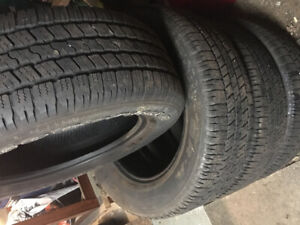 Good year ( wrangler)sr-a tires