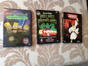 "Simpsons & South Park Halloween / Samurai Jack ""Premier Movie"""
