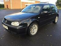 Volkswagen Golf 1.9TDI PD ( 150bhp ) 2003MY GT Black