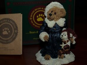 Genevieve Berriman with Brady, Boyds Bears collection Kitchener / Waterloo Kitchener Area image 1