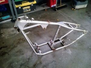 harley fab rigid custom frame