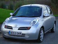 NISSAN MICRA 1.2 16V AUTOMATIC SE ONE OWNER LOW MILEAGE LONG MOT