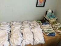 Med cloth diaper and covers lot