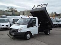 FORD TRANSIT 2.4TDCI T350M TIPPER FINANCE ARRANGED P/X WELCOME
